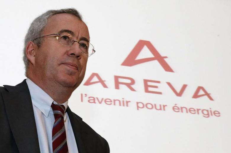 French nuclear reactor maker Areva Chief Executive Officer Luc Oursel attends the annual results presentation in Paris, February 28, 2013. REUTERS/Christian Hartmann