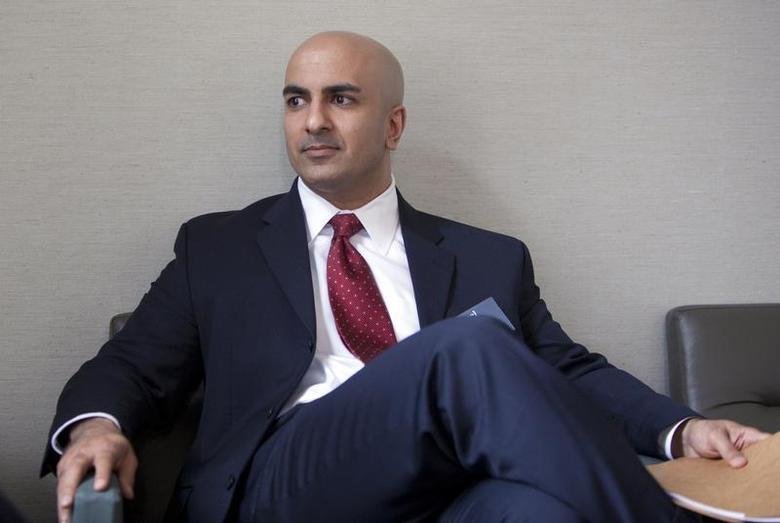 Neel Kashkari, the former Interim Assistant Secretary of the Treasury for Financial Stability in the United States Department of the Treasury, pauses during an interview in San Francisco, California, May 18, 2009. REUTERS/Kimberly White