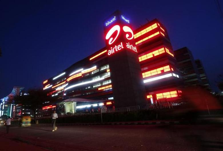 The Bharti Airtel office building is pictured in Gurgaon, on the outskirts of New Delhi, July 30, 2013. REUTERS/Mansi Thapliyal/Files