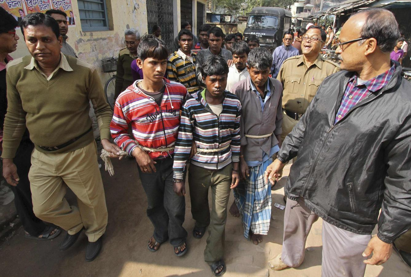 Indian woman says gang-raped on orders of village court
