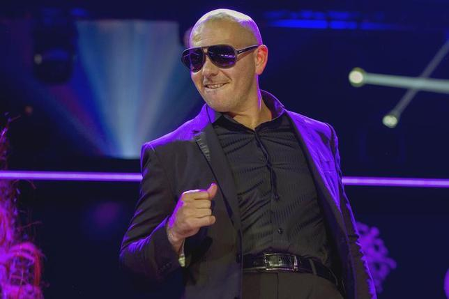 Singer Pitbull performs during the 2013 Z100 Jingle Ball in New York December 13, 2013. REUTERS/Lucas Jackson