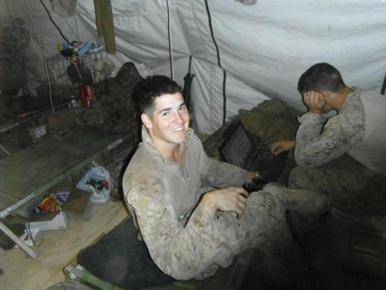 Lance Cpl. David P. Fenn II, 20, of Polk City, Florida is pictured in this undated handout photo courtesy of U.S. Marines. REUTERS/U.S. Marines/Handout