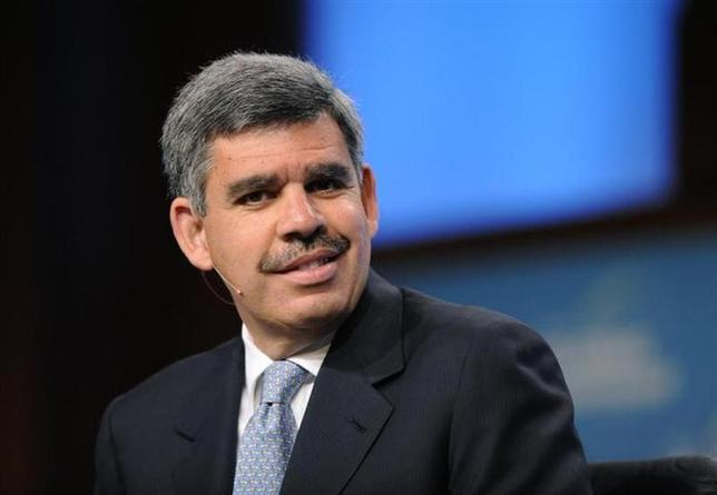 Mohamed El-Erian participates in the ''From Recession to Recovery'' panel in Beverly Hills, California April 26, 2010. REUTERS/Phil McCarten/Files