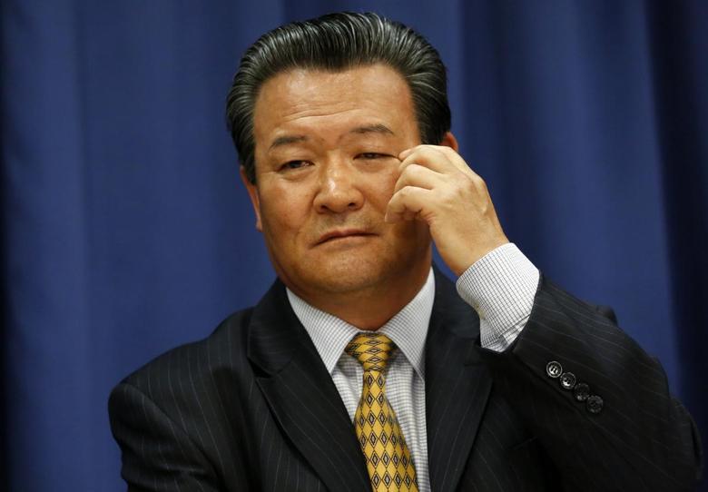 North Korean U.N. Ambassador Sin Son-ho speaks at a news conference at U.N. headquarters in New York, June 21, 2013. REUTERS/Brendan McDermid