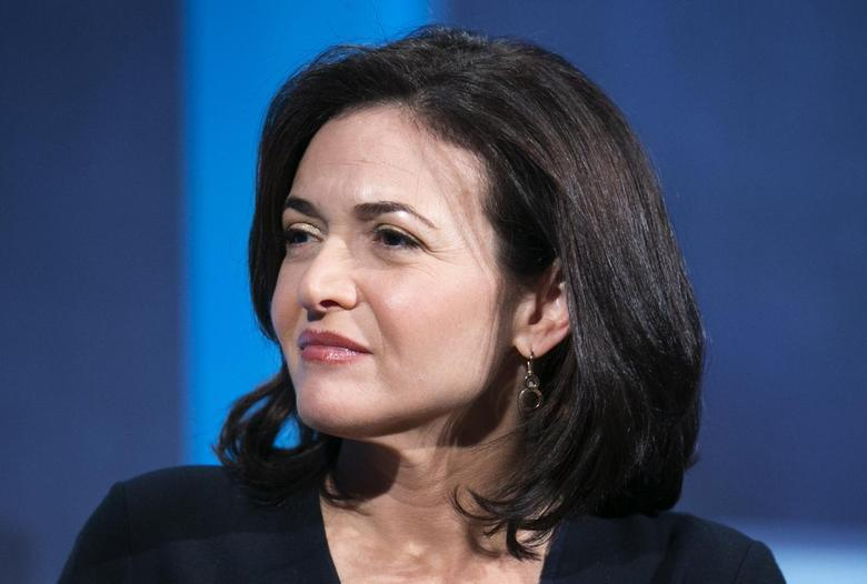 The chief operating officer of Facebook, Sheryl Sandberg, listens at the Clinton Global Initiative 2013 (CGI) in New York September 24, 2013. REUTERS/Lucas Jackson