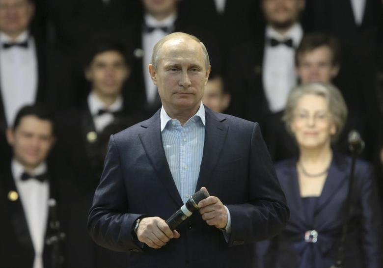 Russia's President Vladimir Putin addresses students at the National Research Nuclear University (MEPhI) in Moscow January 22, 2014 file photo. REUTERS/Mihail Metzel/RIA Novosti/Kremlin PRZ