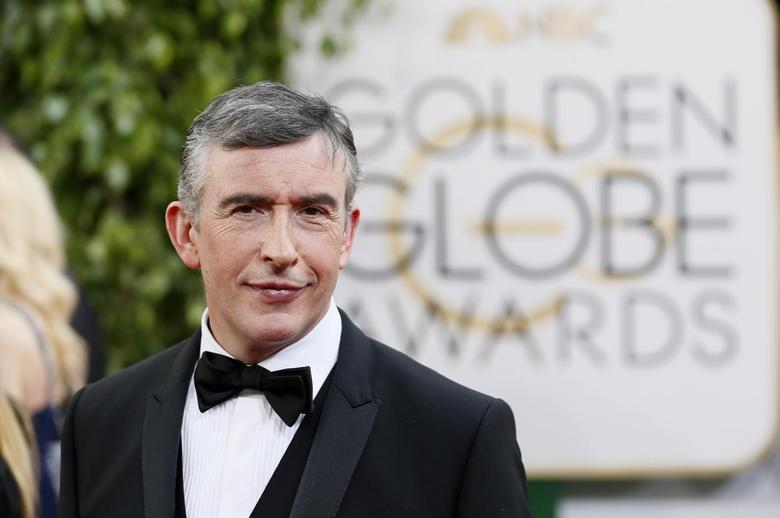 Actor Steve Coogan poses on arrival at the 71st annual Golden Globe Awards in Beverly Hills, California January 12, 2014. REUTERS/Danny Moloshok
