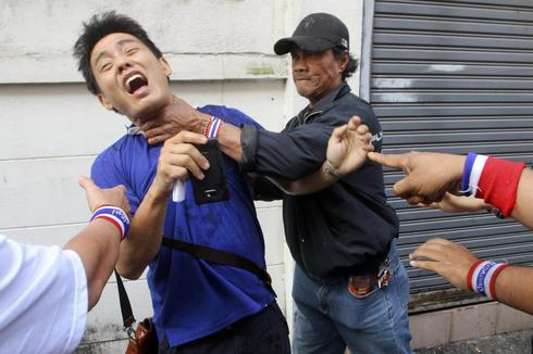 Thai anti-government protester killed, adds to doubts over election
