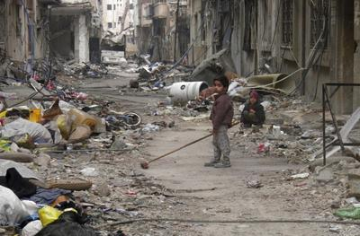Syria talks bring offer of exit from siege of Homs
