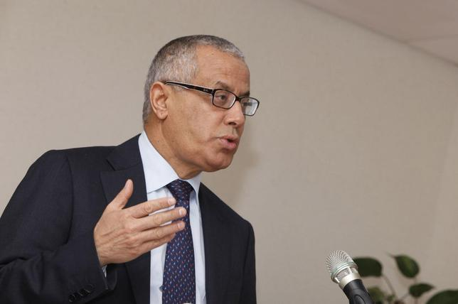 Libya's Prime Minister Ali Zeidan speaks during a news conference in Tripoli, January 27, 2014. REUTERS/Ismail Zitouny