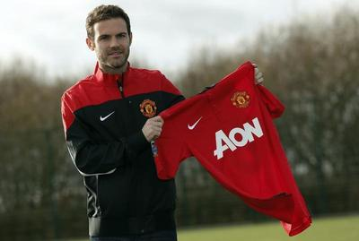 Mata hopes United move will secure Spain World Cup...