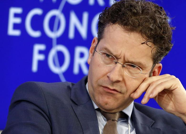 Netherlands' Finance Minister Jeroen Dijsselbloem attends during a session at the World Economic Forum (WEF) in Davos January 25, 2014. REUTERS/Ruben Sprich