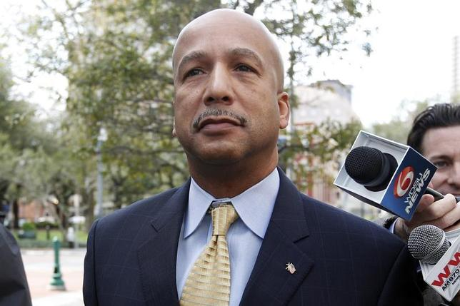 Former New Orleans Mayor Ray Nagin arrives at court in New Orleans February 20, 2013. REUTERS/Jonathan Bachman