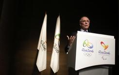 President of Brazil's Olympic Committee Carlos Arthur Nuzman attends a conference on the budget for the Rio 2016 Olympic and Paralympic Games in Rio de Janeiro January 23, 2014. REUTERS/Ricardo Moraes