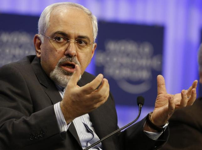 Iran's Foreign Minister Mohammad Javad Zarif attends a session at the annual meeting of the World Economic Forum (WEF) in Davos January 24, 2014. REUTERS/Ruben Sprich