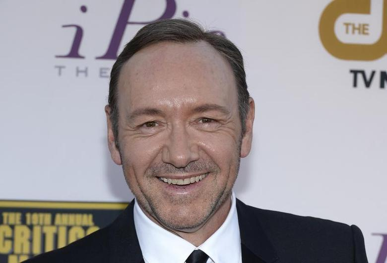 Actor Kevin Spacey arrives at the 19th annual Critics' Choice Movie Awards in Santa Monica, California January 16, 2014. REUTERS/Kevork Djansezian