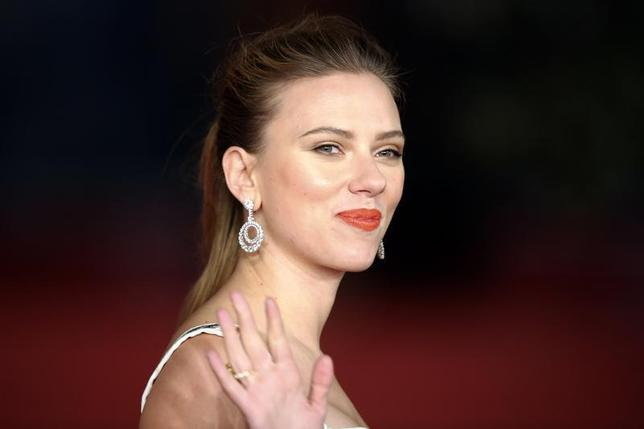 Cast member Scarlett Johansson arrives for a red carpet event for the movie ''Her'' at the Rome Film Festival, November 10, 2013. REUTERS/Alessandro Bianchi