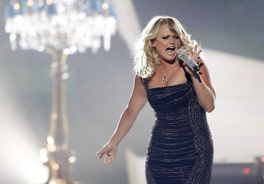 Miranda Lambert performs 'Mama's Broken Heart' during the 48th ACM Awards in Las Vegas April 7, 2013. REUTERS/Mario Anzuoni/Files