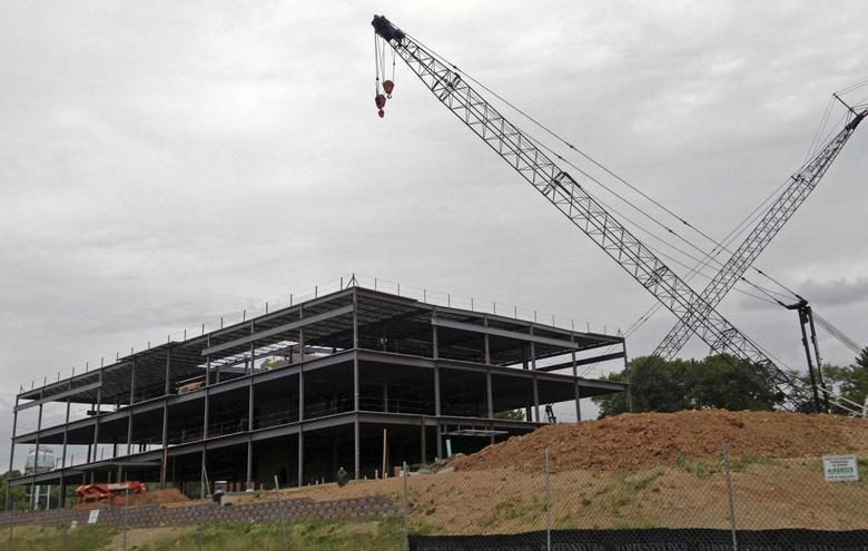 A new building is under construction at chemical maker W.R. Grace's Maryland headquarters in Columbia, Maryland on June 6, 2013. REUTERS/Ernest Scheyder