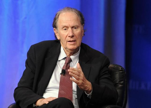 David Bonderman, Founding Partner, TPG Capital takes part in a panel discussion titled ''Chinese Market Culture: How Well Can You Know a Company?'' at the Milken Institute Global Conference in Beverly Hills, California May 1, 2013. REUTERS/Gus Ruelas