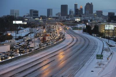 Politicians under fire as icebound U.S. South gets...