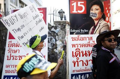 Thai polling stations might close if violence mars...