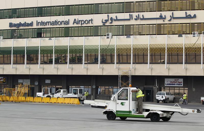 Three rockets strike Baghdad airport, no casualties