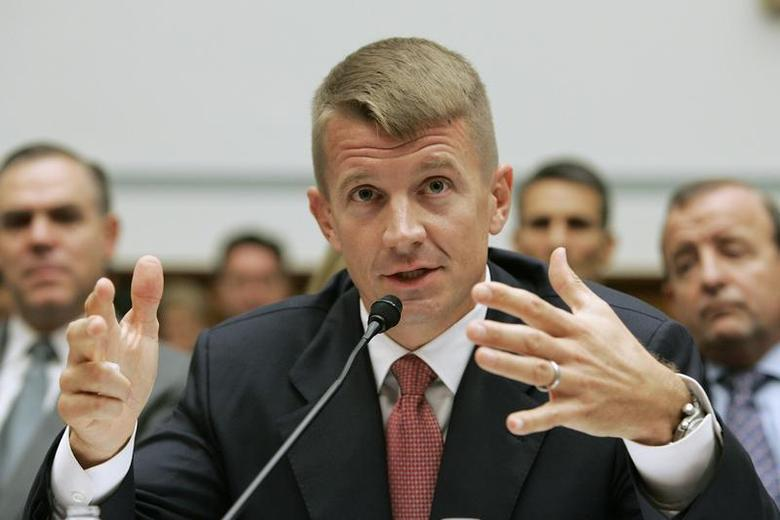 Erik Prince testifies before the House Oversight and Government Reform Committee on security contracting in Iraq and Afghanistan on Capitol Hill in Washington October 2, 2007. REUTERS/Larry Downing