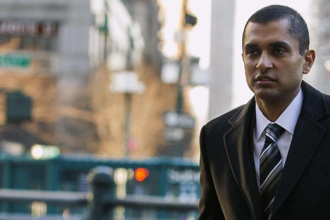 Former SAC Capital portfolio manager Mathew Martoma arrives at the Manhattan Federal Courthouse in downtown Manhattan in New York, January 15, 2014. REUTERS/Brendan McDermid