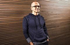 Microsoft a annoncé mardi la nomination de Satya Nadella au poste de directeur général du groupe, concluant une recherche plus longue que prévu d'un nouveau patron après l'annonce par Steve Ballmer en août de son intention de prendre sa retraite. /Photo diffusée le 4 février 2014/REUTERS/Microsoft