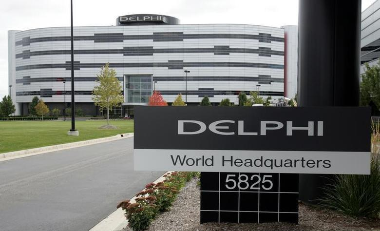 The U.S.'s largest auto parts supplier Delphi Corp.'s headquarters is seen in Troy, Michigan October 8, 2005. Delphi filed for Chapter 11 bankruptcy on Saturday, the biggest bankruptcy filing in U.S. automotive history. - RTXNUYO
