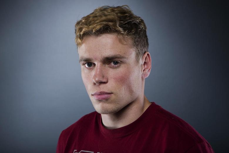 Olympic freestyle skier Gus Kenworthy poses for a portrait during the 2013 U.S. Olympic Team Media Summit in Park City, Utah September 30, 2013. REUTERS/Lucas Jackson