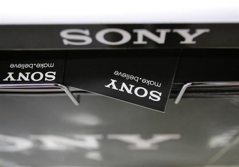 Logos of Sony Corp. are seen at an electronics store in Tokyo October 31, 2013. REUTERS/Toru Hanai/Files