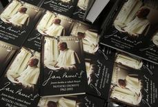 "Copies of ""John Paul II: I am very much in God's hands. Personal notes 1962-2003"" are displayed at a bookstore in the centre of Warsaw February 5, 2014. REUTERS/Kacper Pempel"