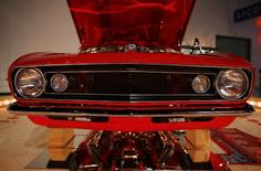 A 1967 Chevrolet Camaro is seen at the Antique Automobile Club of America Museum in Hershey, Pennsylvania February 6, 2014. REUTERS/Gary Cameron
