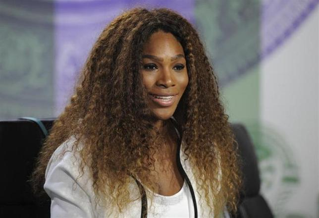 Serena Williams of the U.S. speaks at a news conference in London June 23, 2013. REUTERS/Jon Buckle/AELTC/Pool/Files