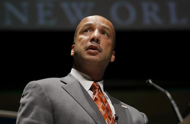 New Orleans Mayor C. Ray Nagin makes an address at a public forum as part of the Sustainable Globalisation summit in Sydney June 11, 2009 file photo. REUTERS/Tim Wimborne