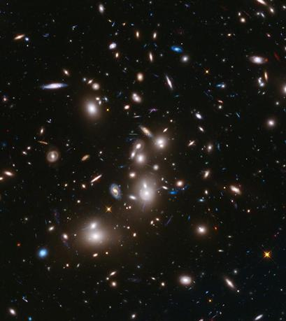 A long-exposure Hubble Space Telescope image of the galaxy cluster Abell 2744, the deepest ever made image of any cluster of galaxies, is seen in an undated NASA handout. REUTERS/NASA/ESA/Handout via Reuters