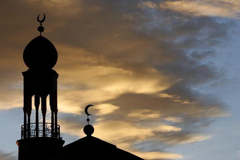 The central mosque is seen in Birmingham, central England, January 31, 2007. REUTERS/Darren Staples