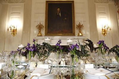Preparing for the state dinner