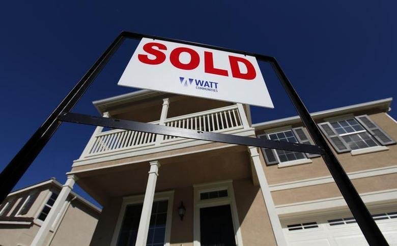 A newly constructed home is pictured before being occupied by its buyers in a new housing development area in Vista, California March 20, 2012. REUTERS/Mike Blake