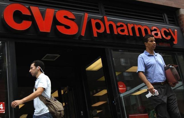 A CVS pharmacy is seen in New York City July 28, 2010. REUTERS/Mike Segar