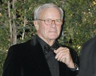 Former NBC Nightly News anchorman and author Tom Brokaw arrives at the Academy of Motion Picture Arts & Sciences 4th annual Governors Awards in Hollywood December 1, 2012. REUTERS/Fred Prouser