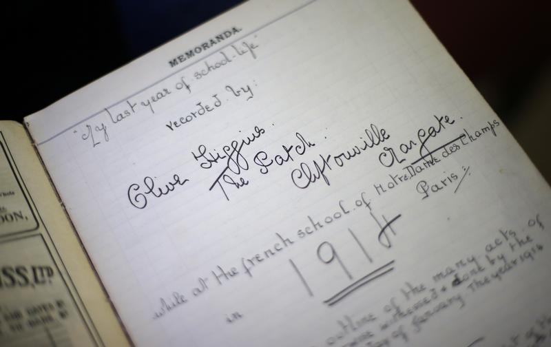 El diario de una adolescente británica de 1914 se publica en Twitter