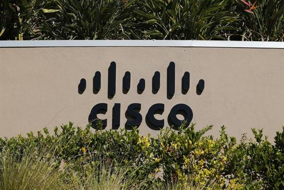 A sign marking a Cisco office is pictured in San Diego, California November 12, 2012. REUTERS/Mike Blake/Files