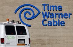 Oficina de Time Warner Cable en San Diego, California, dic 11, 2013. Comcast Corporation anunció el jueves que comprará a Time Warner Cable por unos 45.200 millones de dólares, en un acuerdo que sólo involucrará acciones y que fusionará a los dos mayores operadores de cable de Estados Unidos. REUTERS/Mike Blake