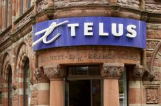 A Telus retail store is seen in downtown Montreal, June 21, 2007. REUTERS/Shaun Best