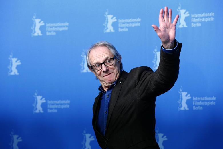 British film director Ken Loach pose during a photocall during the 64th Berlinale International Film Festival in Berlin February 13, 2014. REUTERS/Tobias Schwarz