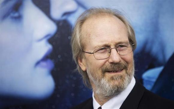 Actor William Hurt arrives for the premiere of his movie ''Winter's Tale'' in New York February 11, 2014. REUTERS/Carlo Allegri