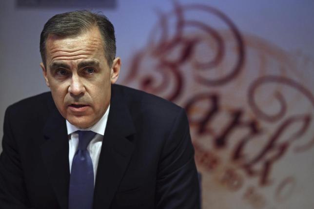 Bank of England governor Mark Carney speaks during the bank's quarterly inflation report news conference at the Bank of England in London February 12, 2014. REUTERS/Dan Kitwood/pool